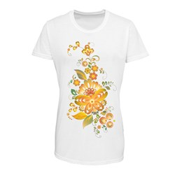 T-shirt donna full foto poliestere